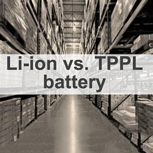 Lithium vs. TPPL Battery Overview