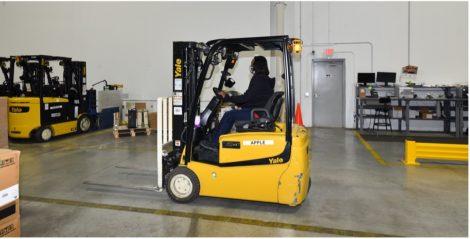 Briggs and Stratton-distribution center adopts-Li-ion technology
